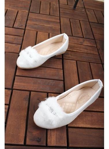 Oksit Ayakkabı Beyaz